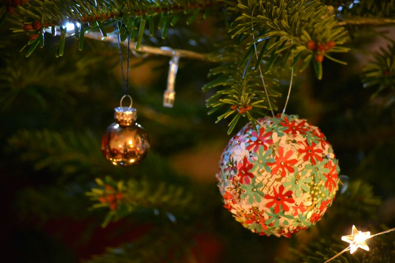 Handmade Christmas Globe