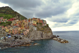Manarola view from Corniglia